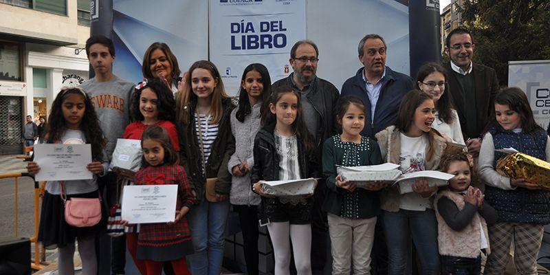 El Día del Libro vuelve a reconocer en Cuenca el talento literario de los centros escolares