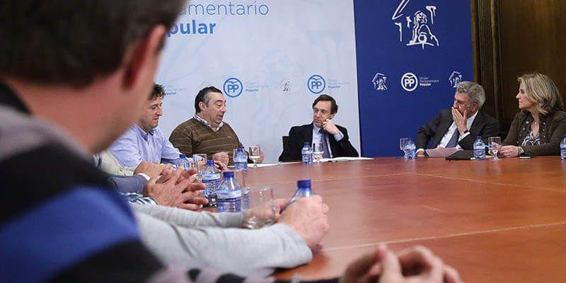 """El PP en el Congreso reitera a Asaja """"su pleno apoyo al mundo rural, la agricultura, la ganadería y la pesca"""""""