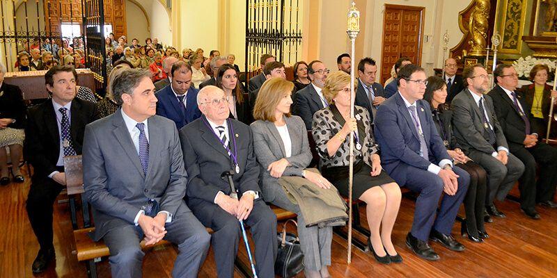 La Corporación Provincial de Cuenca cumple con la tradición y asiste a la función religiosa en el Santuario de las Angustias