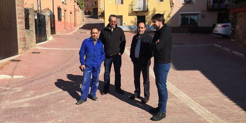 La Diputación de Guadalajara lleva a cabo importantes obras en varios pueblos de la zona de Molina