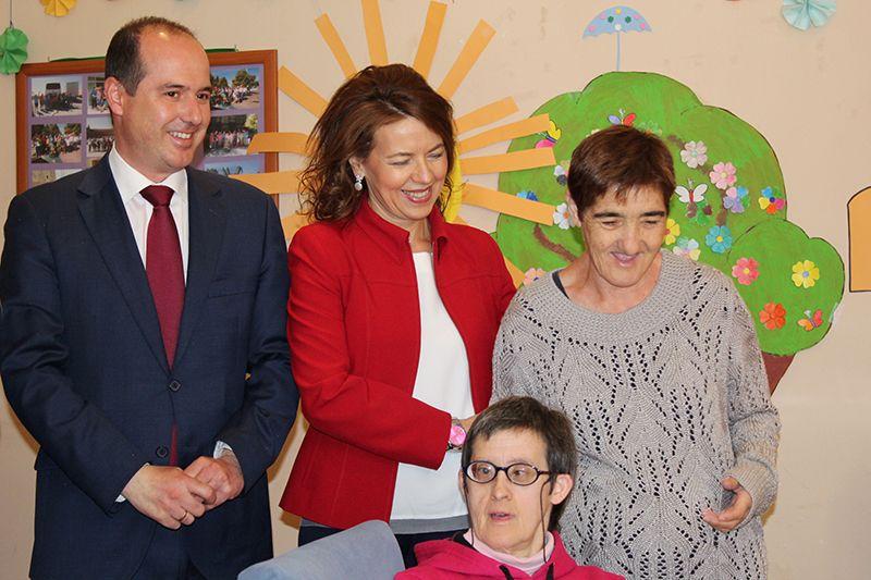 La Junta ha multiplicado por ocho las inversiones en mantenimiento de centros de atención a personas con discapacidad