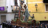 """La M. I. V. H. del Santísimo Cristo de la Salud (el Descendimiento), nombrada """"Muy Antigua"""" por el obispo"""