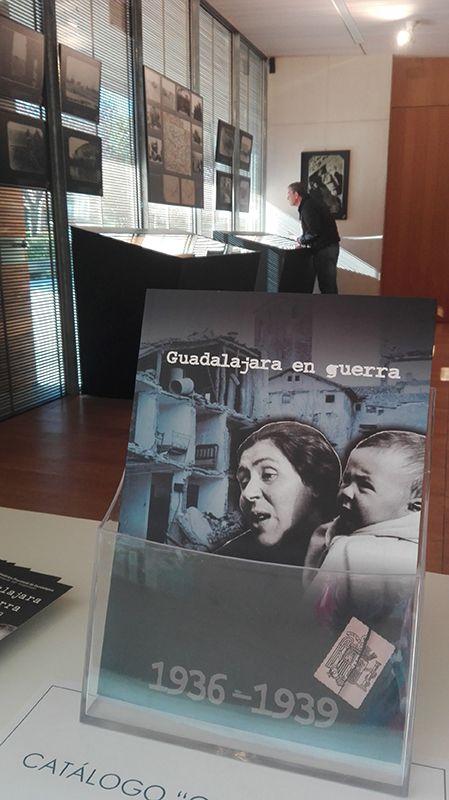 """La exposición """"La batalla de Guadalajara"""" permanecerá abierta al público en el Archivo Histórico provincial hasta el 15 de mayo"""
