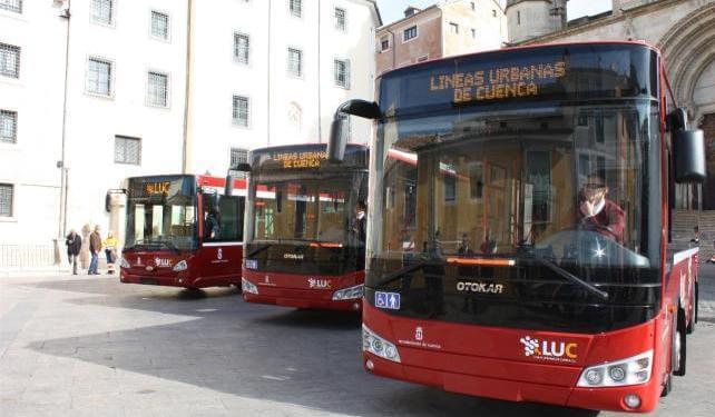 Las procesiones de Semana Santa modifican los horarios de los autobuses de Cuenca