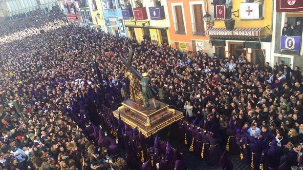 Las procesiones y celebraciones de Semana Santa ocasionarán cortes de tráfico en varias zonas de Cuenca