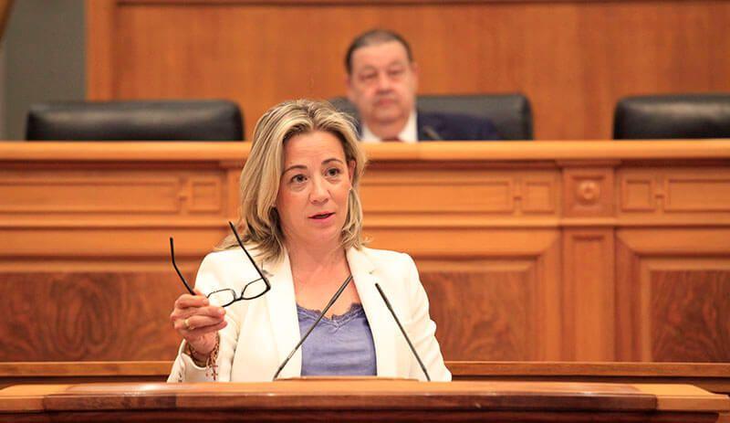 Lola Merino en el Pleno de las Cortes