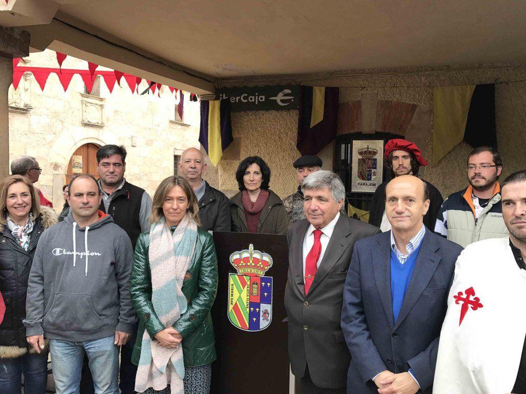 El umbral del Ocejón regresó al siglo XIII de la mano del Mercado Medieval de Tamajón