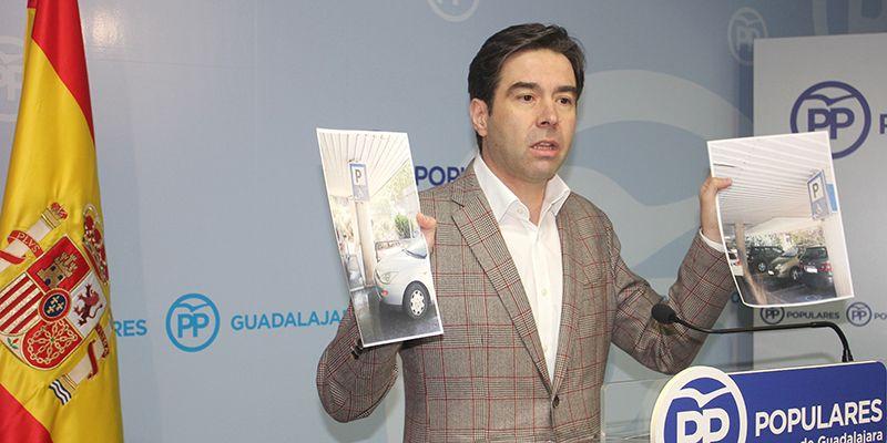 """Techos que se caen, goteras... Robisco denuncia que """"El Hospital de Guadalajara 'hace aguas' mientras Page sigue cruzado de brazos"""""""