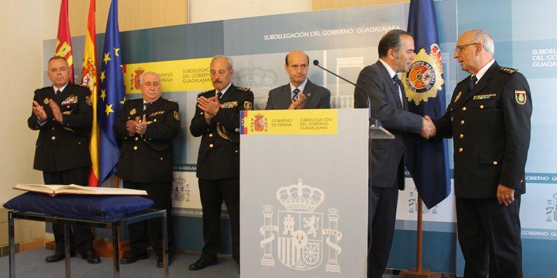 Toma posesión el Comisario José Arroyo Arroyo como Jefe de la Comisaría del CNP en Guadalajara