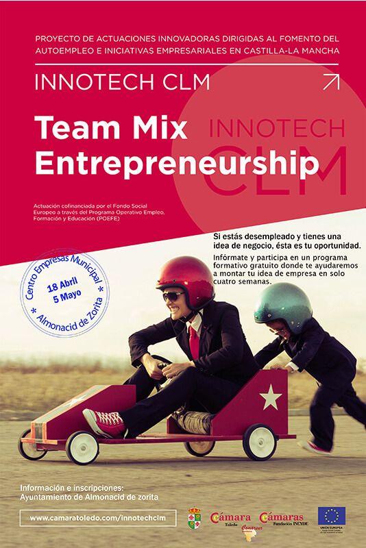 El Ayuntamiento de Almonacid y COMARSUR ponen en marcha 'Emprendedores team mix'