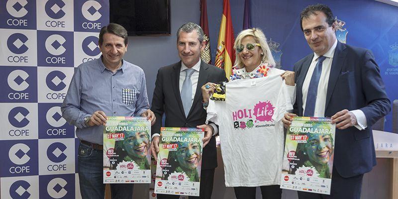 El 7 de mayo, Día de la Madre, llega la 3ª edición de la Holi Run a Guadalajara