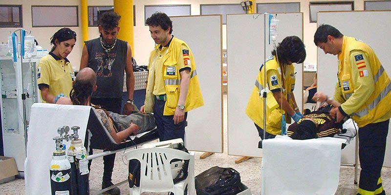 La Junta instala por tercer año consecutivo dos Puntos de Atención a Urgencias Médicas durante el Viña Rock