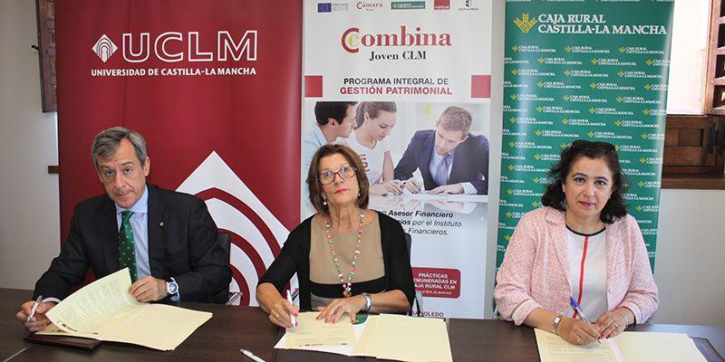 Cámara de Toledo, Caja Rural Castilla-La Mancha y UCLM, unidas por el empleo juvenil
