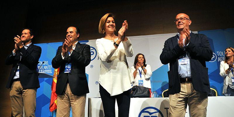 Cospedal asegura que el PP en dos años volverá a gobernar en la región