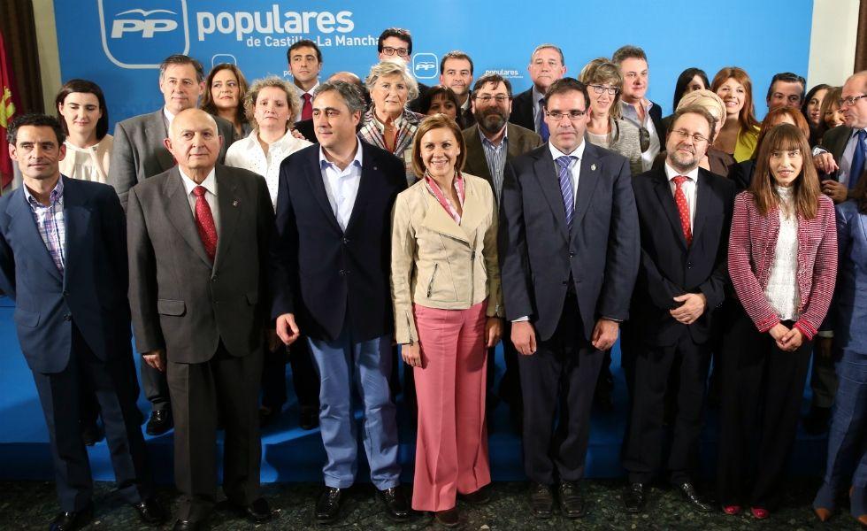 Cospedal clausura el XV Congreso Provincial del PP de Cuenca