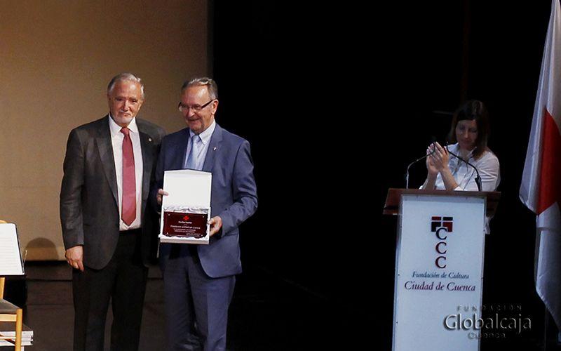 Cruz Roja reconoce a la Fundación Globalcaja Cuenca su apoyo prestado en estos años