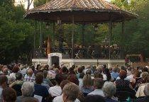 Cuenca responde a las marchas militares gracias al concierto de la Banda Municipal de Música