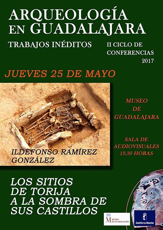 El Museo provincial acoge una conferencia sobre trabajos arqueológicos realizados en el entorno del castillo de Torija