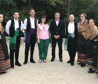 El viceconsejero de Cultura asiste al I Festival Regional de Folclore dentro de los actos del Día de Castilla-La Mancha en Cuenca