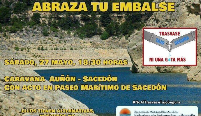 Este sábado, nueva manifestación contra el trasvase y por la recuperación de Entrepeñas y Buendía