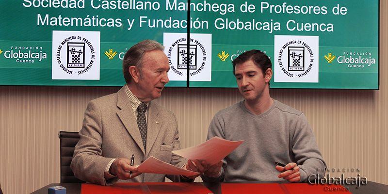 Fundación Globalcaja Cuenca apoya a la Sociedad Castellano-Manchega de Profesores de Matemáticas