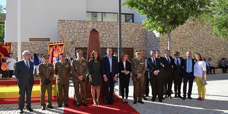 Horcajo de Santiago rinde homenaje a la Bandera de España