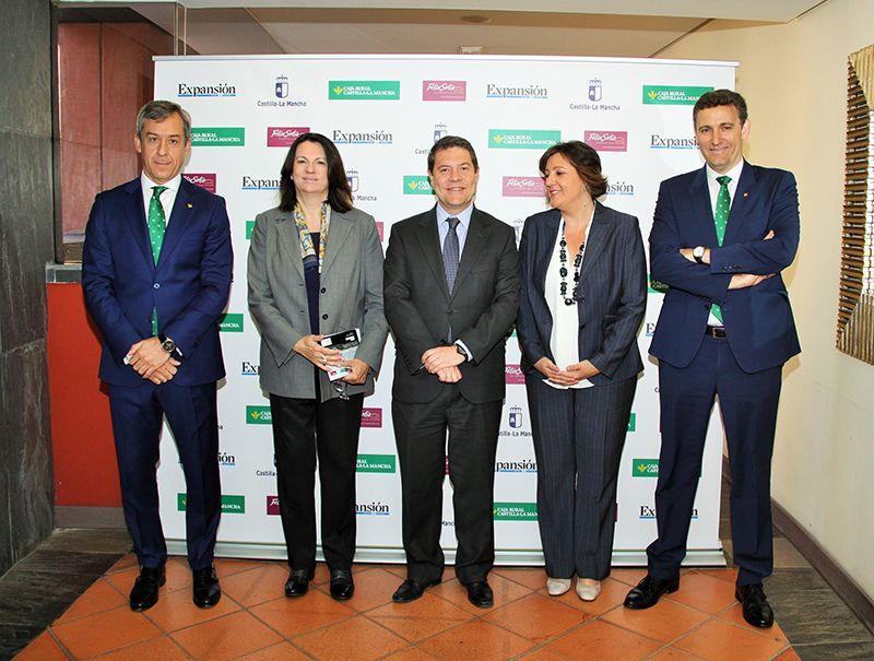 """Javier López """"Caja Rural Castilla-La Mancha siempre será locomotora de crecimiento para nuestra región"""""""