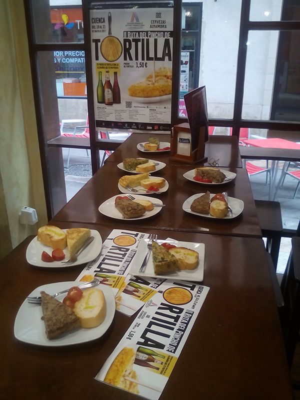 La Agrupación de Hostelería de Cuenca, muy satisfecha con los resultados de la II Ruta del Pincho de Tortilla
