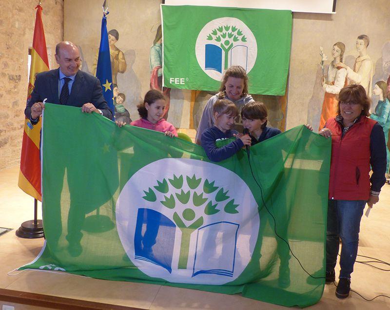 La Diputación de Guadalajara entrega 'Banderas Verdes' a seis colegios en el XI Encuentro Provincial de Ecoescuelas