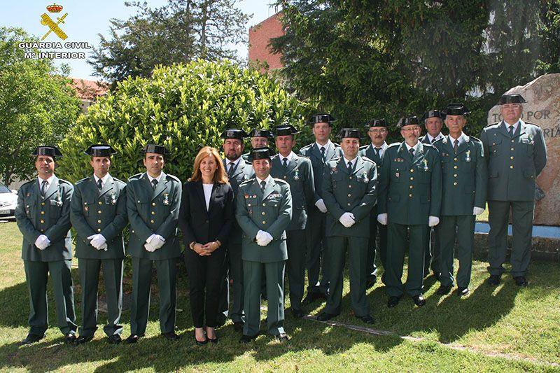 La Guardia Civil de Cuenca celebra los actos conmemorativos del 173º aniversario de su Fundación