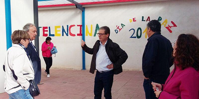 La Junta colabora en la construcción de un nuevo equipamiento deportivo de uso escolar en Fuentelencina