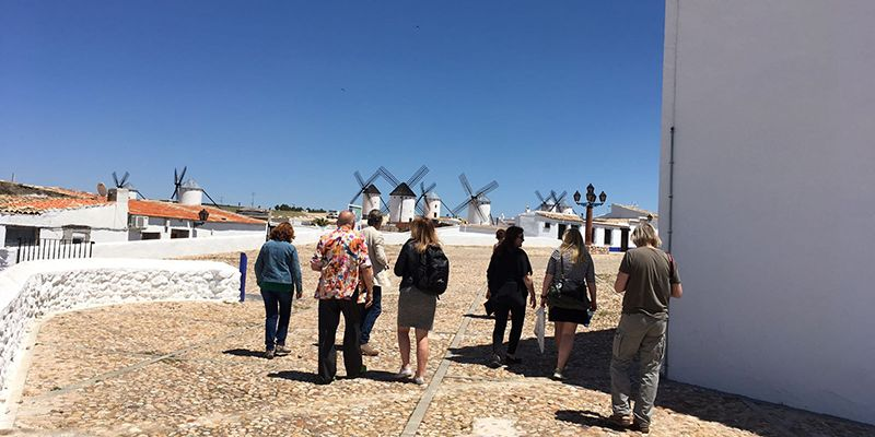 La Junta da a conocer los atractivos de Castilla-La Mancha de la mano de un grupo de periodistas noruegos