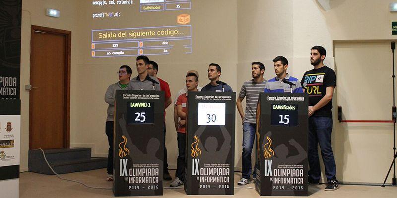 La Olimpiada Regional de Informática de la UCLM se celebrará el 26 de mayo en formato de concurso televisivo