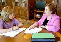 La alcaldesa de El Pedernoso traslada al Gobierno de España la petición de medidas que palíen las graves pérdidas en las cosechas por el pedrisco
