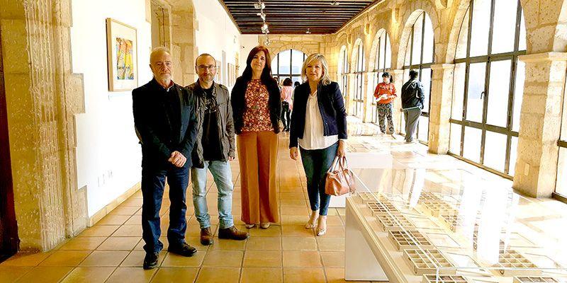Las Paleofonografías de Javier Ariza llegan al Museo de Obra Gráfica de San Clemente