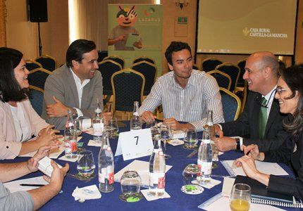 Los 'Lazarus' de la Fundación Caja Rural Castilla-La Mancha presentan sus proyectos a posibles inversores