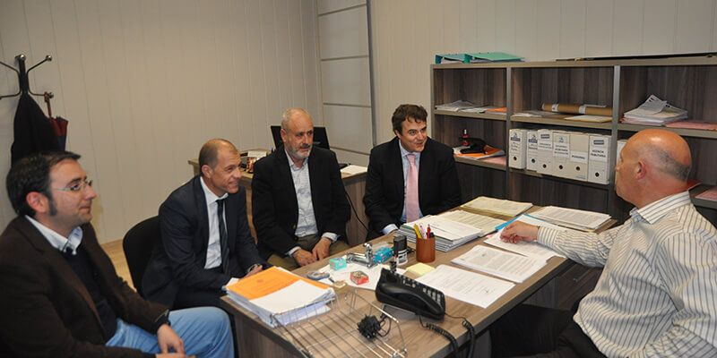 Los presidentes de CEOE-Cepyme Cuenca y ASEMIN piden ayuda al Ayuntamiento de Minglanilla para desarrollar actividades