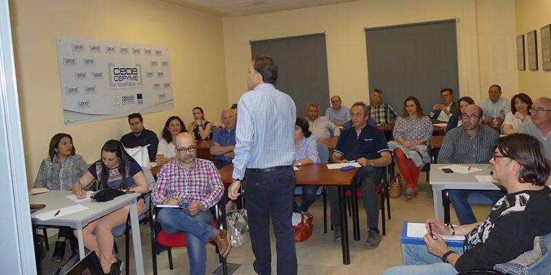 Más de 30 empresas completan en Cuenca su formación sobre ventas adaptadas a cada cliente