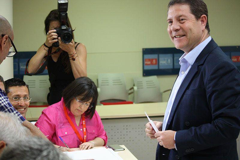 """Page, optimista """"Si el PSOE sale hoy alineado con la sociedad española, en pocos meses volverá a ser la alternativa real al gobierno de Rajoy"""""""