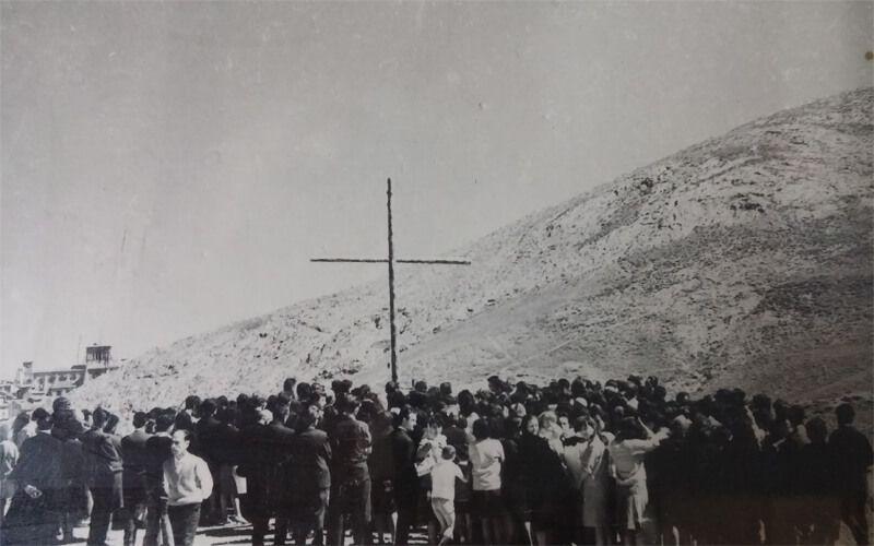 Raíces de El Liberal. 50 años de la construcción de la Capilla y de la llegada de la Virgen de Fátima a Tiradores Altos | Liberal de Castilla