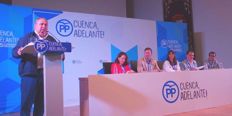 """Tirado """"Hablar del PP de Cuenca es hablar del partido que gana las elecciones"""""""