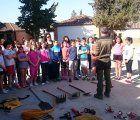 Trabajadores del Plan INFOCAM forman a los escolares de la región en la prevención de incendios