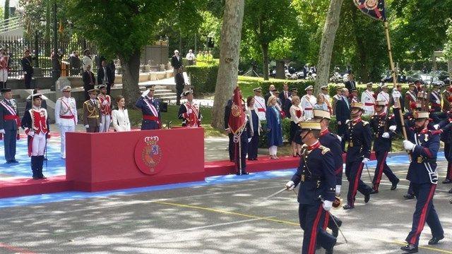 Agotadas las acreditaciones para ver en tribuna el desfile de las Fuerzas Armadas
