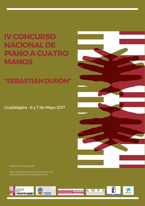 """Sábado y domingo """"Concurso piano a cuatro manos"""" en el Teatro Moderno"""