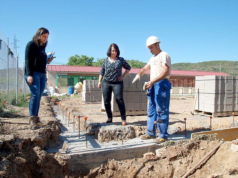 Diputación de Cuenca continúa con la mejora y ampliación del Albergue de Animales con una inversión de 40.000 euros