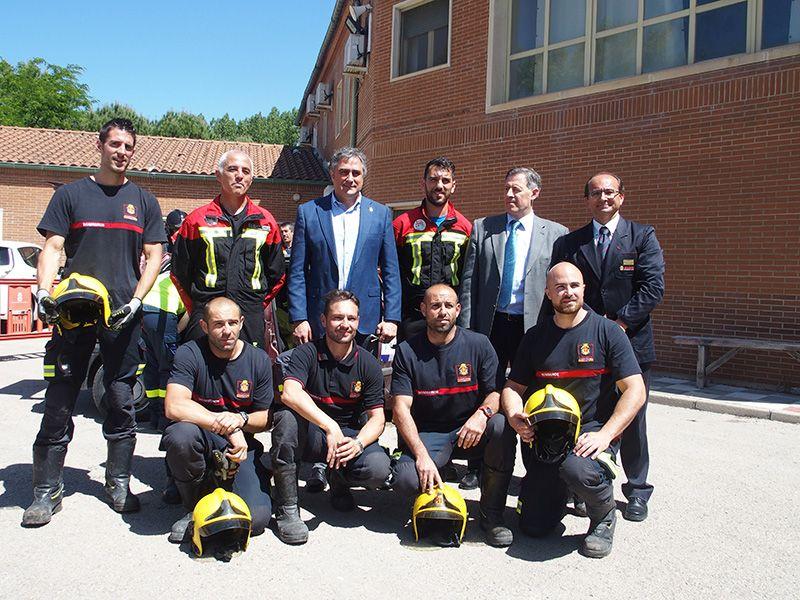 El Parque de Bomberos de Cuenca acoge unas jornadas preparatorias para el campeonato nacional de rescate en accidentes de tráfico