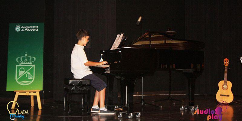 Éxito en la Audición de fin de curso de los alumnos de la Escuela de Municipal de Música de Alovera