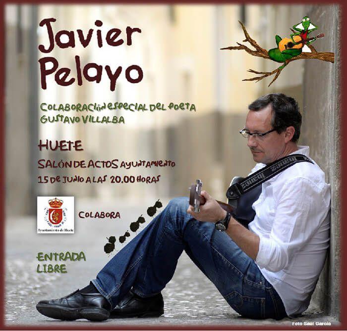 Actuación musical y recital del cantautor Javier Pelayo