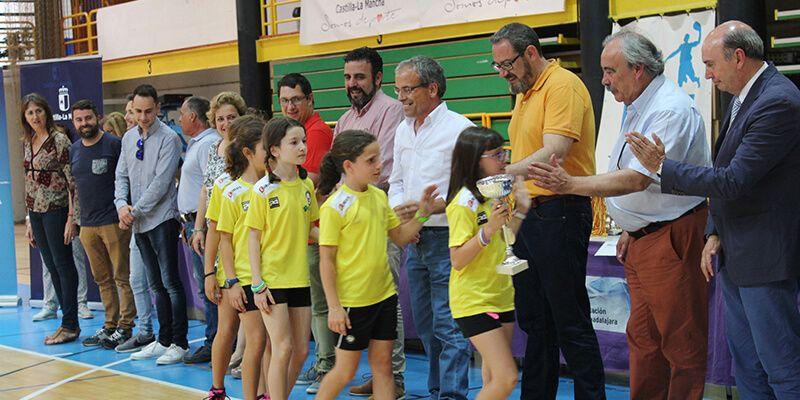 Brillante entrega de premios del Campeonato de Deporte en Edad Escolar en Guadalajara