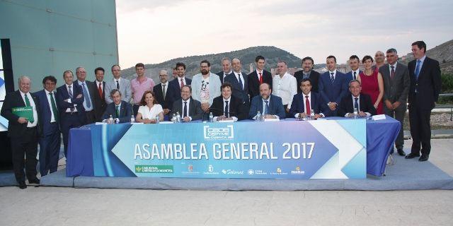 Caja Rural CLM patrocina la Asamblea General de CEOE CEPYME Cuenca y resalta su vocación de servicio con el colectivo empresarial